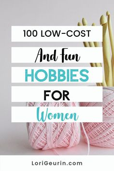 Looking for healthy ways to relieve stress and have fun? Here are 100 low-cost hobbies that are easy to do at home or outdoors. There's something for everyone even if you're short on time. #hobbies #funhobbies #hobbiesforwomen #hobbiesformoms #hobbiesformen #lowcosthobbies #freehobbies Easy Hobbies, Hobbies For Women, Hobbies To Try, Crafts To Sell, Diy And Crafts, Puzzle Board Games, Ways To Relieve Stress, Wellness Tips, Have Fun