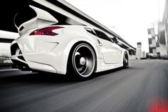 Nissan 370Z Car Tuning Street HD Wallpaper