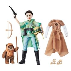 Amazon.com: Star Wars Forces of Destiny Endor Adventure: Toys & Games