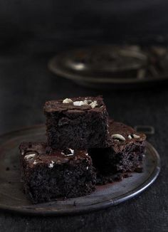 Mint Chocolate Brownies!