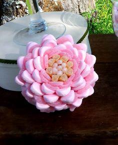 Centro de #chuches en forma de flor. Malakoss.com