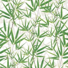 Muriva Just Like It Bamboo Pattern Leaf Motif Vinyl Wallpaper J67504