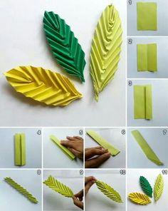 . Paper Flowers Diy, Flower Crafts, Diy Paper, Paper Crafts Origami, Diy Origami, Paper Flower Tutorial, Paper Quilling, Handmade Flowers, Streamer Flowers