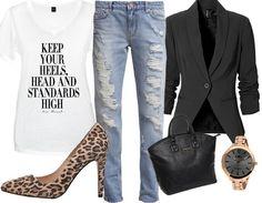 Keep your heels high