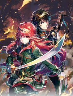 Read Nejimaki Seirei Senki - Tenkyou No Alderamin Manga Online For Free Cosplay Anime, Sky Anime, Manga Anime, Grimgar, Upcoming Anime, Animes Online, 2016 Anime, Yatori, Fanart