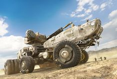 ArtStation - Giant Trailer, stephen lxt