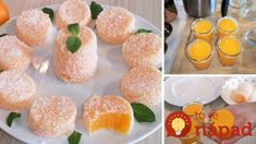 Zákusky už u nás deti nepýtajú, toto je najväčší hit každej oslavy: Vyklopené mandarínkové poháre – žiadna želatína ani chemikálie! Sushi, Gem, Avocado, Muffin, Good Food, Dessert Recipes, Food And Drink, Cooking Recipes, Vegetarian