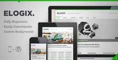 Download and review of ELOGIX - Responsive Business WordPress Theme, one of the best Themeforest Corporative themes