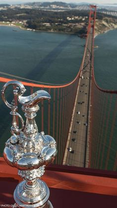 Unbelievable shot - quite scary! Ashame New Zealand couldn't bring this back home. #americascup #outofourreach