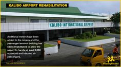 Kalibo Airport's rehabilitation allows it to handle at least passengers. International Airport, At Least, Handle, Building, Buildings, Construction, Door Knob