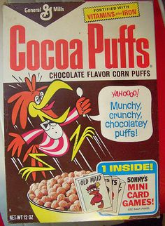 1970s COCOA PUFFS