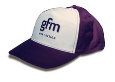 Affordable 5 panel polyester cap with embroided eyelets, pre curved peak and adjustable velcro fastener.