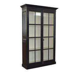 Glassdoor cabinet for display