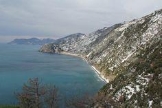 Corniglia snow 2012