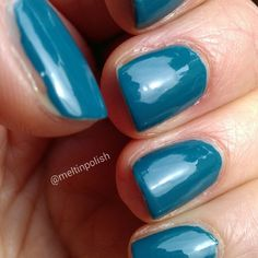 """My precious @illamasqua """"Muse"""", in this picture as I gave it my first try! It's a really beautiful #Teal, with a capital """"T"""". #nails #nail #fashion #style #TagsForLikes #cute #beauty #beautiful #instagood #pretty #girls #stylish #sparkles #styles #illamasqua #nailart #art #muse #photooftheday #nailsofinstagram #unhas #ongles #notd #vernis #love #shiny #polish #nailpolish #nailswag"""