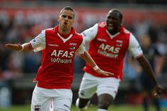 ~ Adam Maher and Jozy Altidore on AZ Alkmaar ~