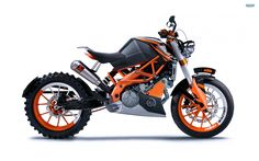 images of ktm duke 125 motorcycle desktop background 2560x1600 px wallpaper