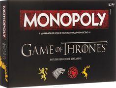 Купить Monopoly Настольная игра Монополия Игра Престолов в интернет-магазине OZON.ru