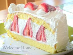 Who doesn't love strawberry short cake? Cold, creamy, sweet and light ....the perfect summer dessert.....who ...