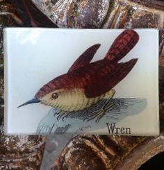 'Wren' Decoupage Tiny Tray by John Derian.