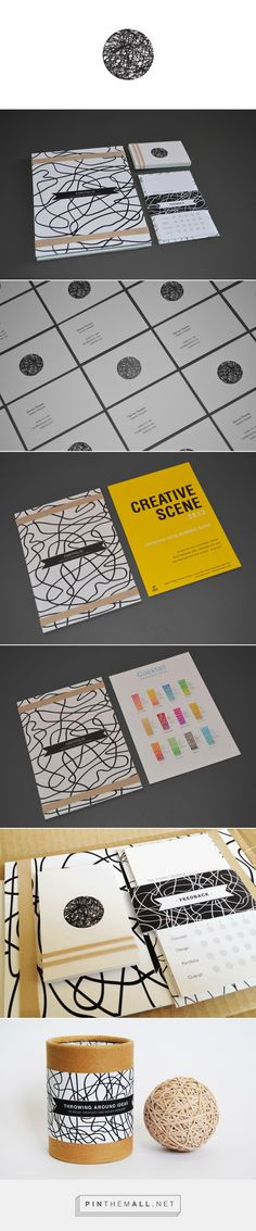 Personal Identity on Behance - created via http://pinthemall.net