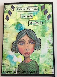 chantal cards: art by Marlene