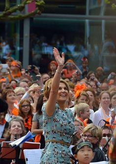 Amstelveen heeft de 1e Koningsdag op 26 april 2014.