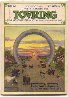 Touring Club Italiano magazine, May 1911