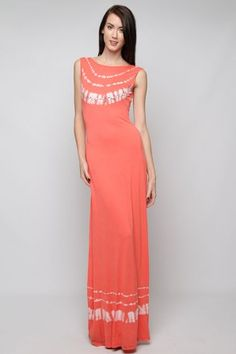 Dress-SLEEVELESS KNIT DRESS WITH TIE-DYE AND SEQUINS Refer a friend for a chance to win a $300 Shopping Spree