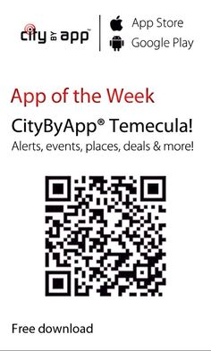 Get the FREE Temecula California mobile app!