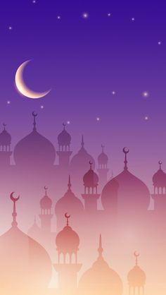 Moonlit Minarets.