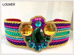 #moda#fashion#cinturon#multicolor#louver#marbella