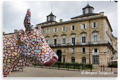 N°52 - La Baroudeuse and Cow - place Lainé Artiste Waldoo - propriétaire Association des Commerçants de Bordeaux Lac