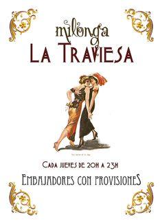 Milonga La Traviesa (Tango queer en Madrid todos los viernes)