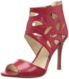 Nine West Women's Fabeyana Leather Heeled Sandal >>> See this great image  : Block heel sandals