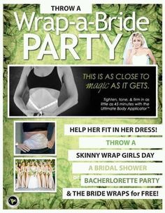 Bride Wraps for FREE...