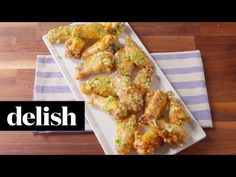 Best Garlic Parmesan Chicken Wings Recipe - How to Make Garlic Parmesan Wings–Delish.com
