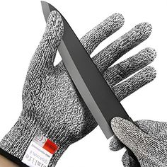 Cut Resistant Gloves Simlife, High Performance Level 5 Pr...