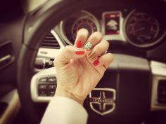Bella's Mis uñas...me encantan los colores