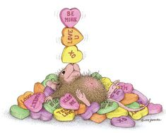 Image result for mouse house valentine images