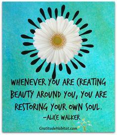 Create beauty!