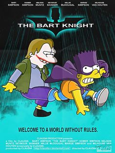 33 Posters of movies and series with characters from The Simpsons - Images