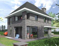 Jaren 30 woning in de bossen bij Zeist. Een prachtig vormgegeven woning die toch wat afwijkt van de standaard woningen.