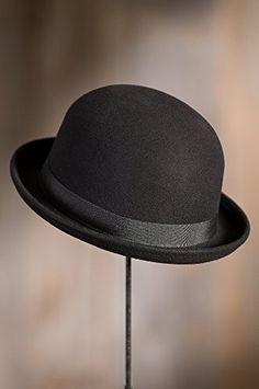 Amazon.com  Crushable Wool Waterproof Derby Bowler Hat b008bdaa68b