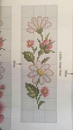 Layette Cross Stitch by Nubia Dmc Cross Stitch, Cross Stitch Bookmarks, Cross Stitch Borders, Cross Stitch Flowers, Cross Stitch Designs, Cross Stitching, Cross Stitch Patterns, Blackwork Embroidery, Cross Stitch Embroidery