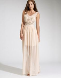 Lipsy Embellished Maxi Dress. This would be perfect for Hawaii!