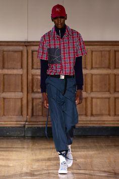 ALC Menswear AW18 • Look 12 Hat: Simon and Mary x ALC Menswear Shoes: Converse One Star • Photo: SDR Photo Garments available to source on request • #ALCman #amandalairdcherry #SAMW #avantegarde #simonandmary #ratedonestar