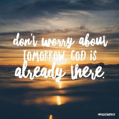 Cast your worry on Him, He has this figured out. Tag a friend below who you think needs to read this. ❤