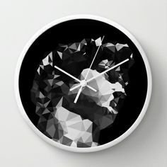 RENAISSANCE 2.0 Wall Clock by THE USUAL DESIGNERS - $30.00