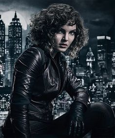 Batman Batmobile, Batman And Catwoman, Joker, Salina Kyle, Selina Kyle Gotham, Cameron Bicondova, Gotham Tv Series, Dc World, Gotham Girls